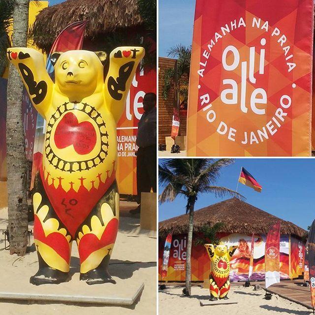 Oli Ale - Casa tematica da alemanha nas Olimpiadas Rio 2016. Confira a programação das casas dos paises