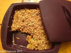 8 Minute Apple Crisp in my Epicure Food Steamer!