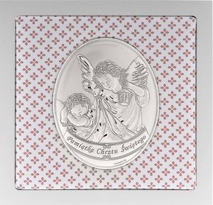 Obrazek Anioł Stróż pamiątka na chrzest