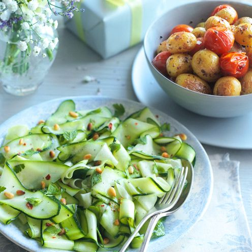 Mother's Day Recipes: Mustard roasties - See more recipes like this at goodhousekeeping.co.uk