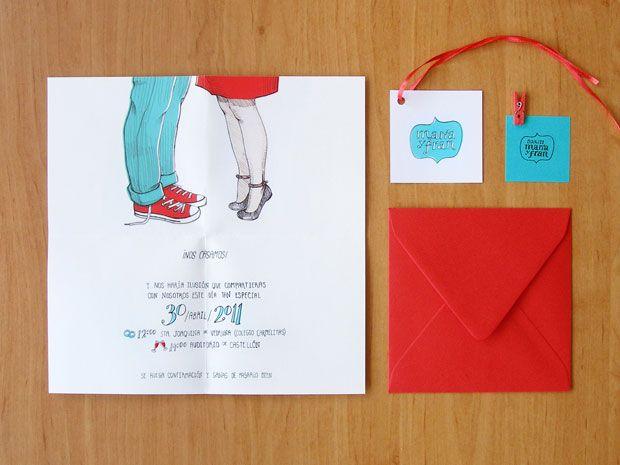 tarjetones invitaciones boda