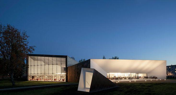 JKMM architects: alvar aalto's seinajoki city library expansion - designboom   architecture