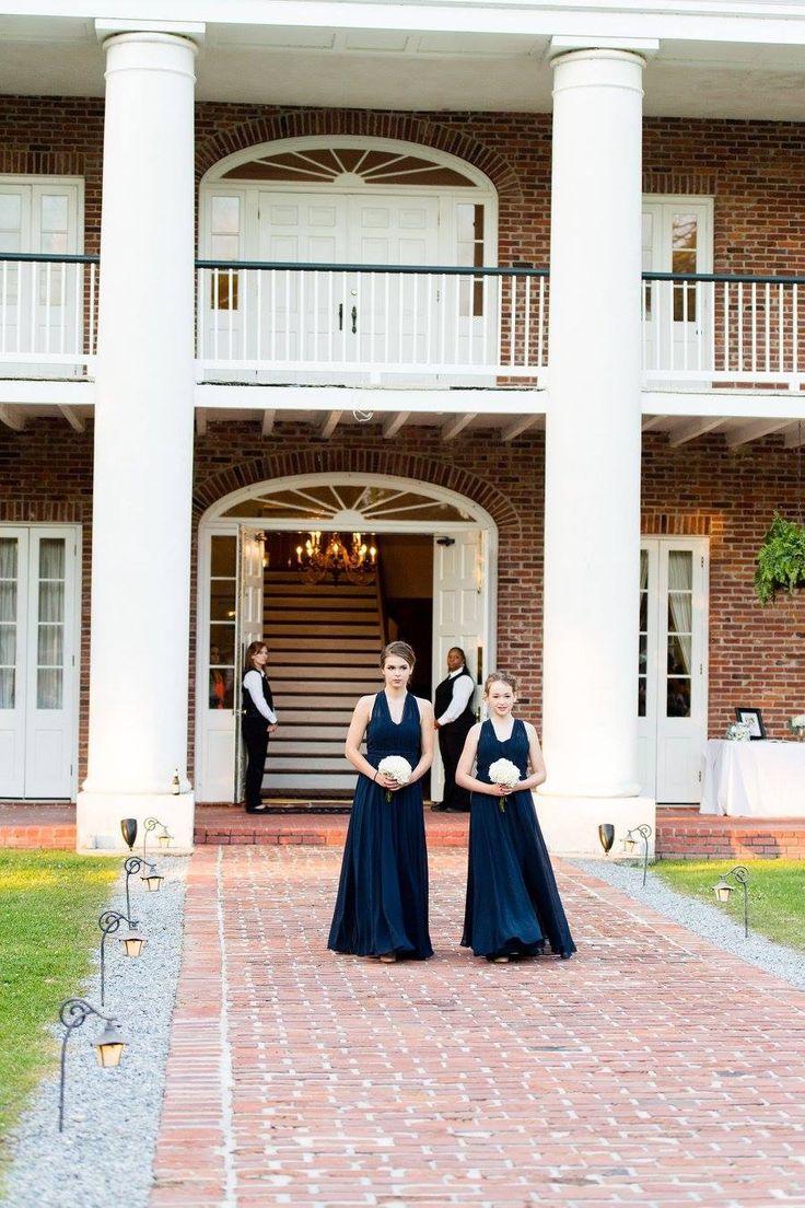 Jr Flower Girls With Hydrangea Bouquets BouquetHydrangeasPlantation WeddingJenaWhite OakFlower