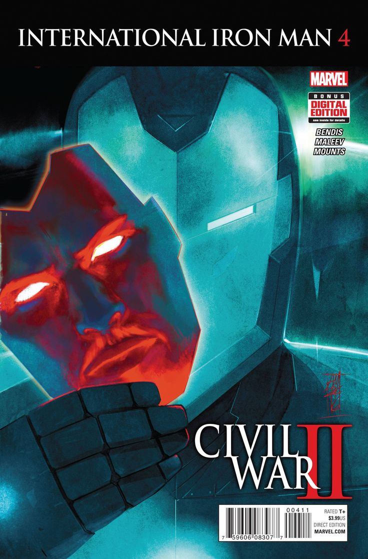 International Iron Man (2016) Issue #4