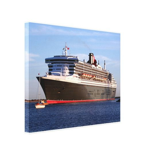 Queen Mary 2 Cruise Ship Canvas Print Queen Mary 2 Cruise Ship. Ideal for home décor or corporate, in the office, aged care, accommodation, hospitals, commercial buildings, gifts for weddings, birthdays and anniversaries, hotels, restaurants, housewarming, motels, medical centres, libraries, schools, retail outlets and convention and conference centres.