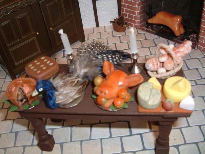 Tudor banquet table