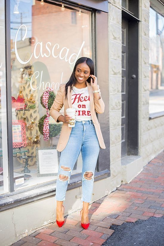 Top looks outfit ideas with blazer you have to try 45