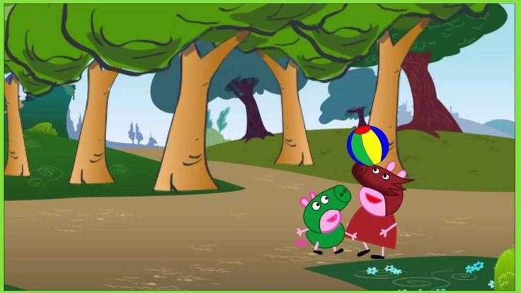 Peppa pig video  peppa pig play ball | peppa pig full episodes 2016