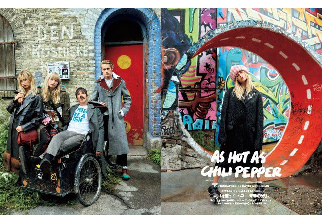 羽織るだけでおしゃれに見える50着強のコートが勢揃い!ファッションストーリーには、レッド・ホット・チリ・ペッパーズのアンソニー・キーディスがゲスト出演!  buff.ly/2dkRcRm