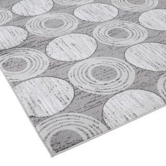 Zipcode™ Design Gray Circles Area Rug