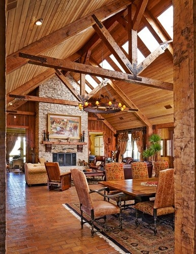 14a78a189ea0d85f96f86550135e053c western homes traditional family rooms 228 best ranch barn house images on pinterest,Western Design Homes