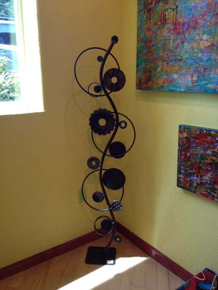 Welded Recycle Art