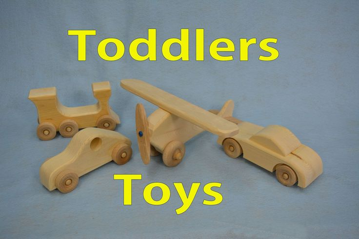 How to Make Wood Toddle Toys.
