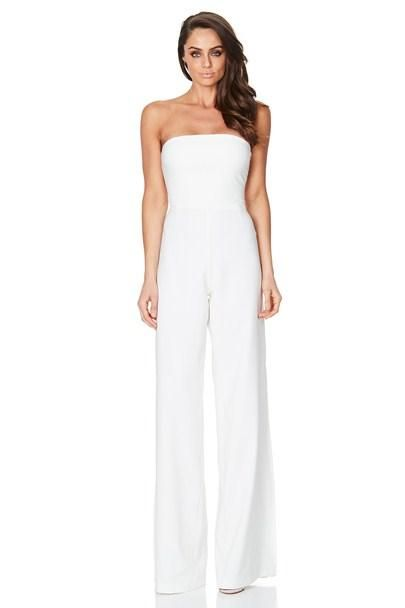 Nookie - Glamour Jumpsuit In Ivory