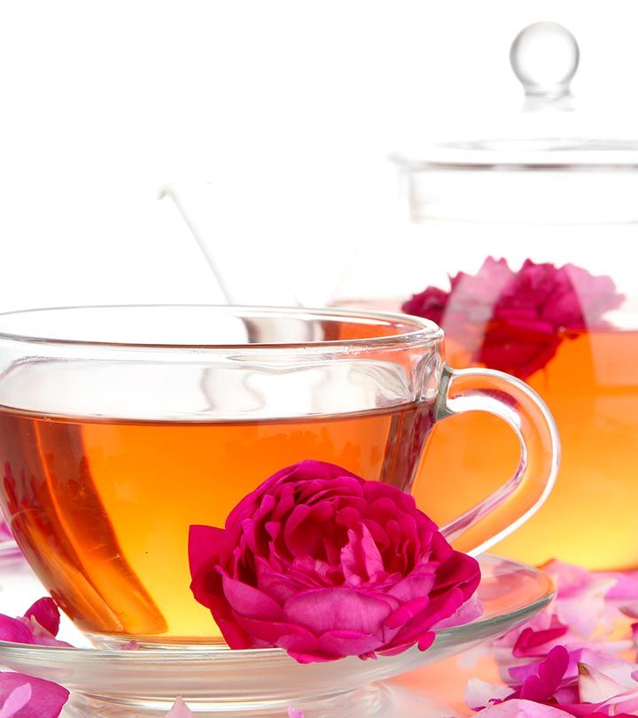 10 Wonderful Health Benefits Of Rose Tea