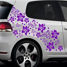 autoaufkleber blumen ranken schmetterlinge - Google-Suche