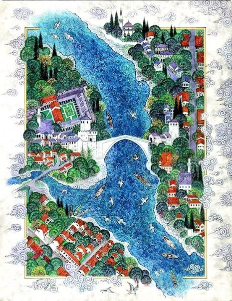 Mostar -  by Nusret Colpan
