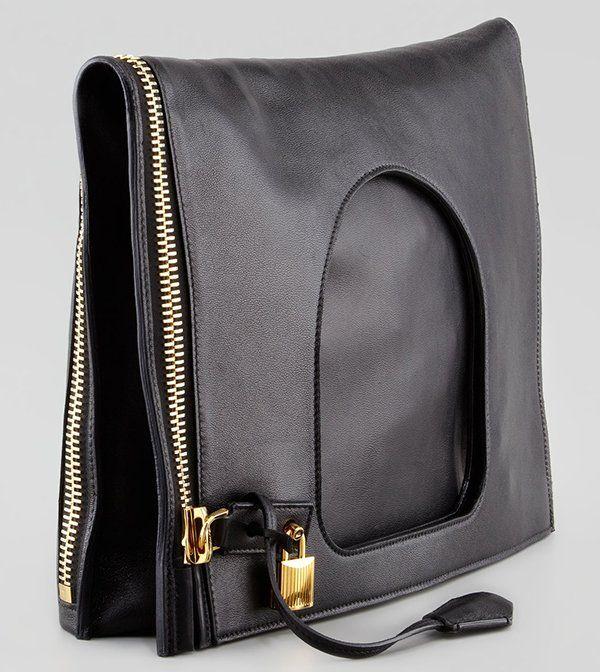 Tom Ford Alix Shoulder Bag Black3