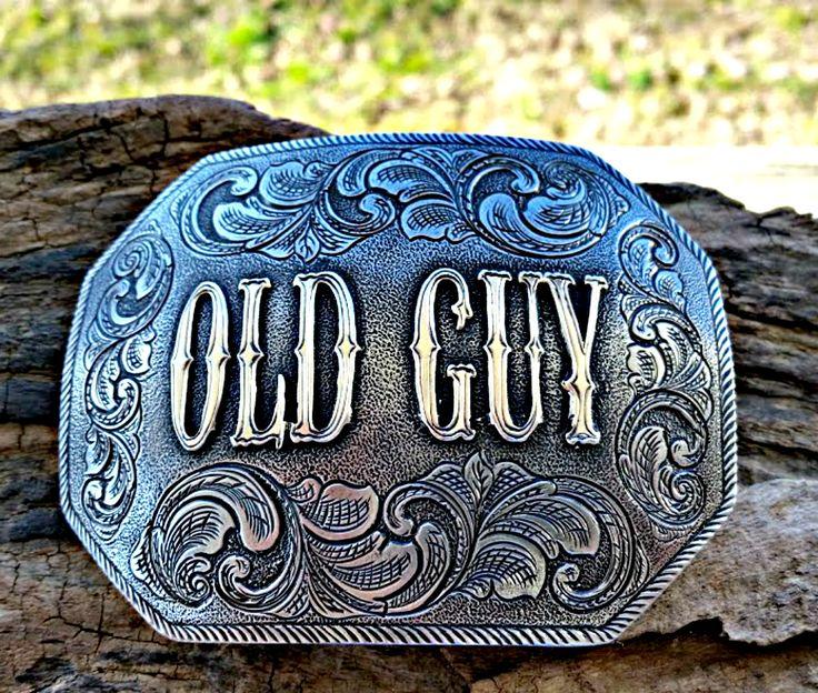 Clipped corner personalized custom belt buckle, great gift for birthdays, anniversaries, retirement, etc. Order at BluegrassEngraving.com.