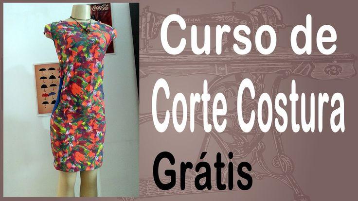 Corte e Costura passo-a-passo Vestido Tubinho Bicolor - Vestido Tubo