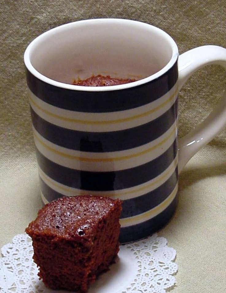 Easy Microwave Desserts in a Mug: Chocolate Brownie Mug Mix From Easy Microwave Desserts in a Mug