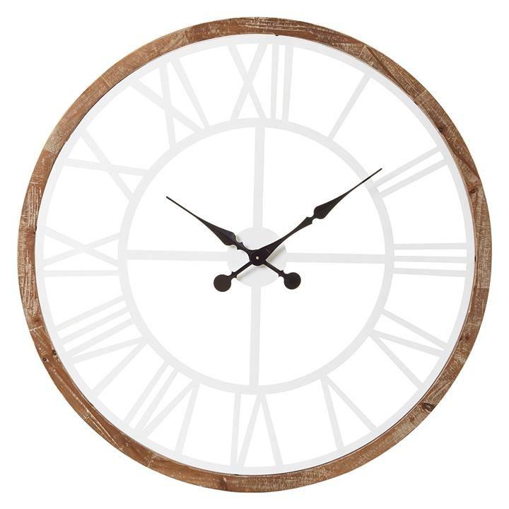 Conrad Wall Clock 100cm By Amalfi Clock Wall Clock Wall
