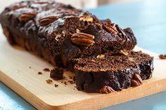 Chocolade-bananen cake