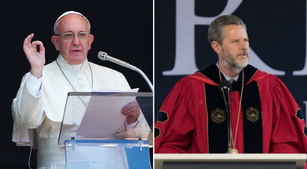 Partisan Pope? Jerry Falwell Jr. Calls Out Pope Francis