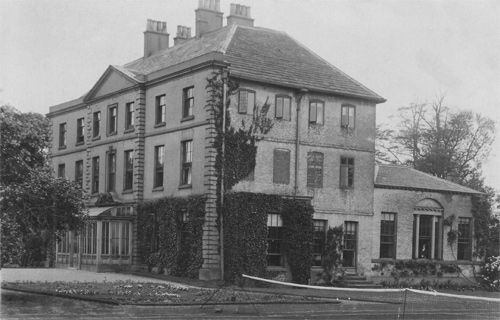 Orford Hall, Warrington, Cheshire - demolished in 1935, reason unknown.