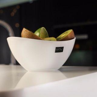 Miska / Salaterka plastikowa VIALLI DESIGN LIVIO ENSALADA BIAŁA 0,6 l