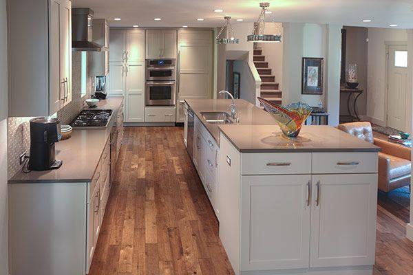 Tri level kitchen remodel google search kitchen love for Quad level home remodel