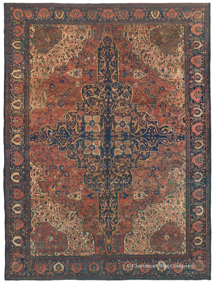 Find This Pin And More On Antique Persian Ferahan U0026 Ferahan Sarouk Rugs By  Claremontrug.