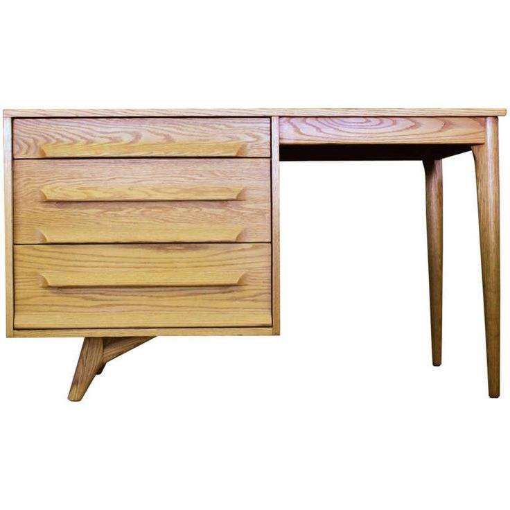 Sculptural Desk / Vanity By Jack Van Der Molen   Style Paul Laszlo And  Nakashima