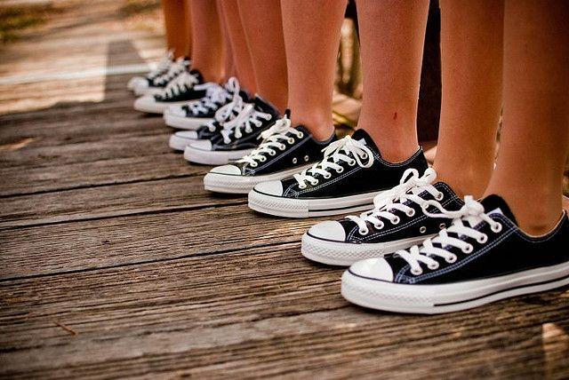 Bridesmaid's Converse