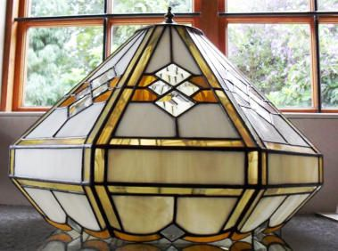 Tiny Dot Studio - Stained Glass Lamp Shades