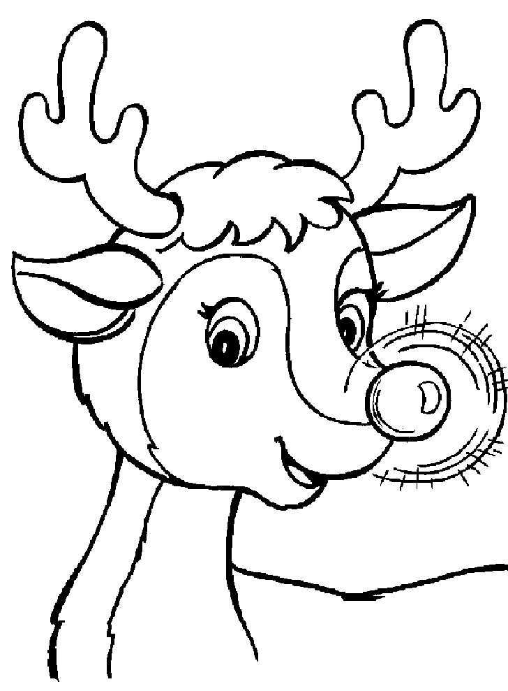 Rudolph Coloring Pages Printable Free Online Sheets For Kids Get The Latest Images