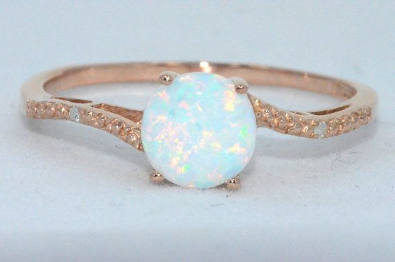 14Kt Rose Gold Diamond Ring- I will buy this for myself if I don't get it for Christmas haha!