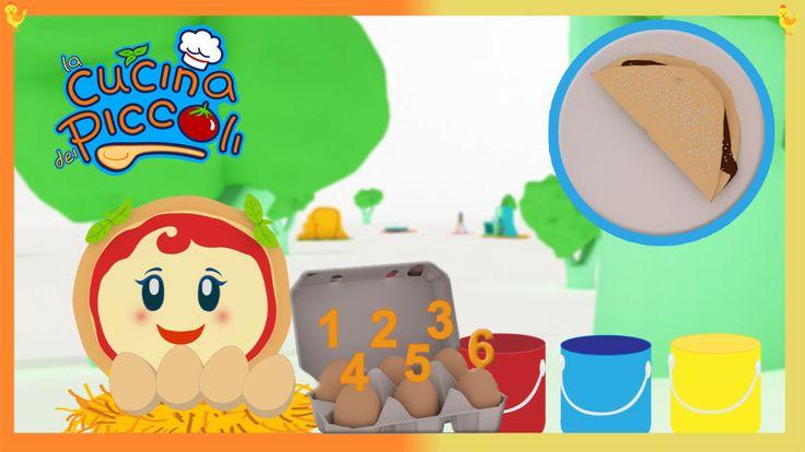 Margherita la piccola pizza e le uova   Compilation di 10 minuti Cartoni per bambini online.  Bentornati alla cucina dei piccoli! Abbiamo per voi una compilation di cartoni animati per bambini con tantissimi giochi e una ricetta davvero speciale! Le crepes al cio #cartonianimati #margherita #uova