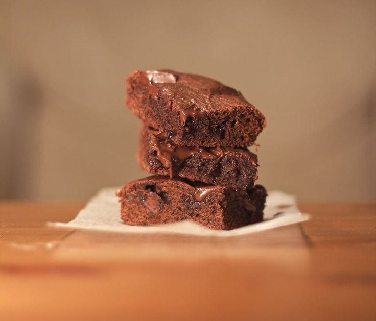 Quick and Easy Nutella Brownie - The Kiwi Fruit