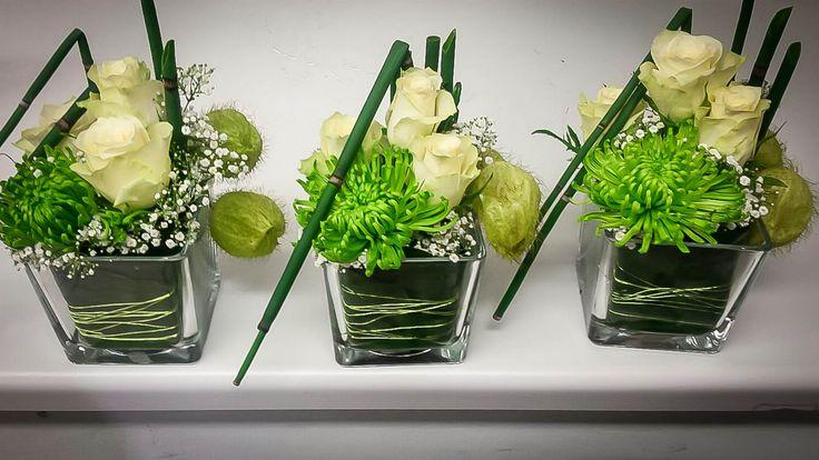 Professionelles Aussehen, und das selbst gemacht!  Zaubern Sie eine graphische Wirkung ins Glas. Mit Blumen, Ästen und Pflanzen, im Glas gearbeitet, übe... - Die Blumenmönche - Google+