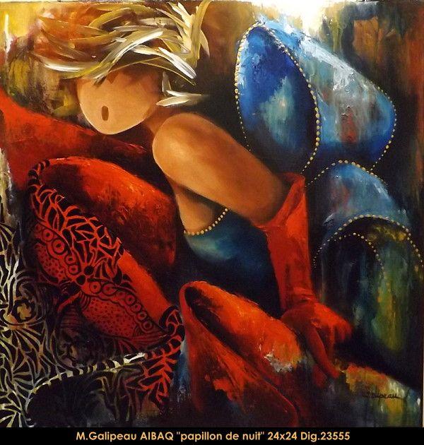 Marc Galipeau original acrylic painting on canevas #marcgalipeau #art #acrylicpainting #originalpainting #fineart #canadianartist #quebecartist #woman #dress #multiart #balcondart