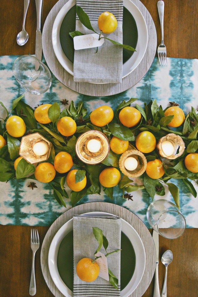 Simple & Natural No Stress Thanksgiving Tables