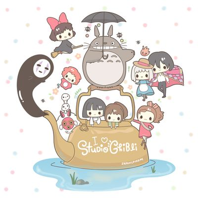 ghilbl studio ghibli hayao miyazaki hayao miyazaki drawing totoro le voyage de chihiro Chihiro ponyo the moving castle le chateau ambulant Kiki's Delivery Service kiki la petite sorcière Princess Mononoke arietty cutedrawing