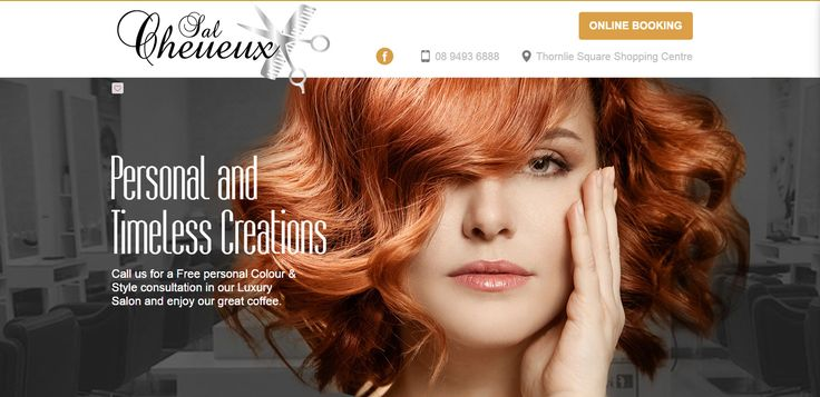 WELCOME TO SAL CHEVEUX http://www.salcheveux.com.au Our Creative team can design a style that is as individual as you are. Experience our amazing cuts & colour. Book now for a FREE personal style and colour consultation and enjoy our great coffee! another website developed by www.sushidigital.com.au
