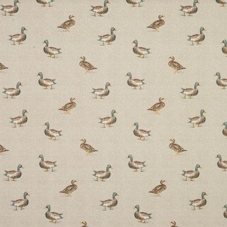 Mallard Curtain Fabric - Natural