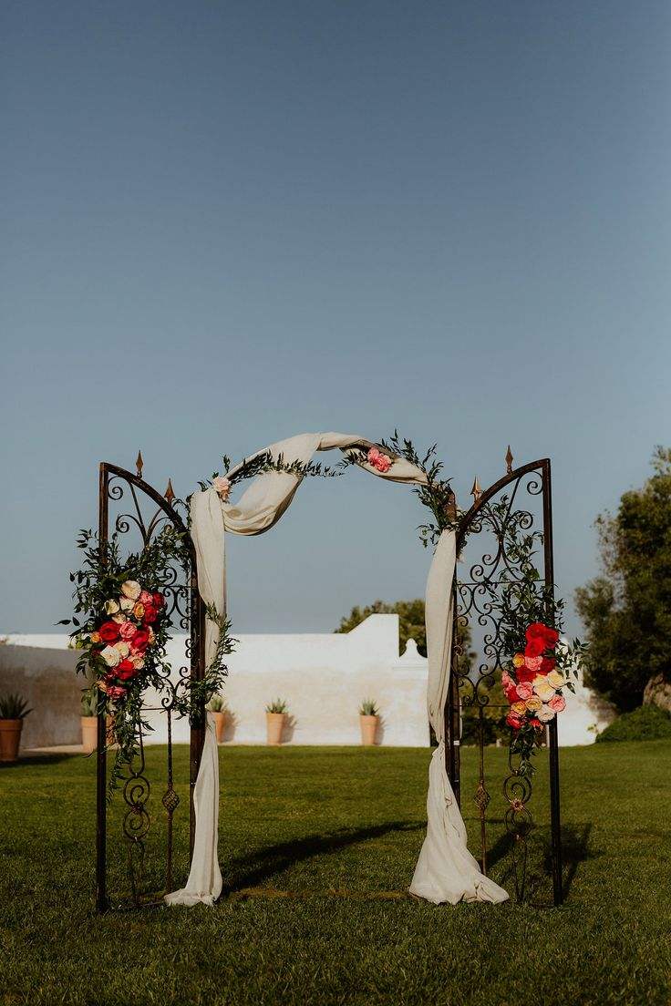 Amsicora - Backdrop o arco per cerimonia simbolica vintage - arch for wedding ceremony like an old gate