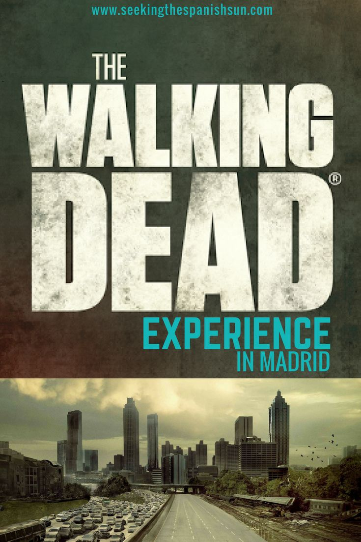 The Walking Dead Experience in Madrid. A crazy scary, real-life zombie ride in Madrid at Parque de Attraciones theme park.
