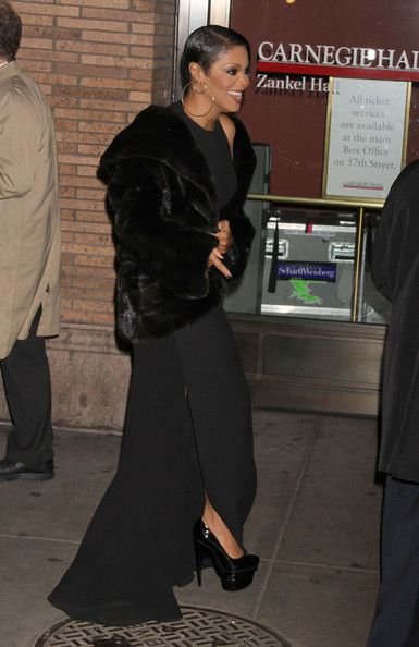 Janet Jackson Platform Pumps - Janet Jackson Heels - StyleBistro