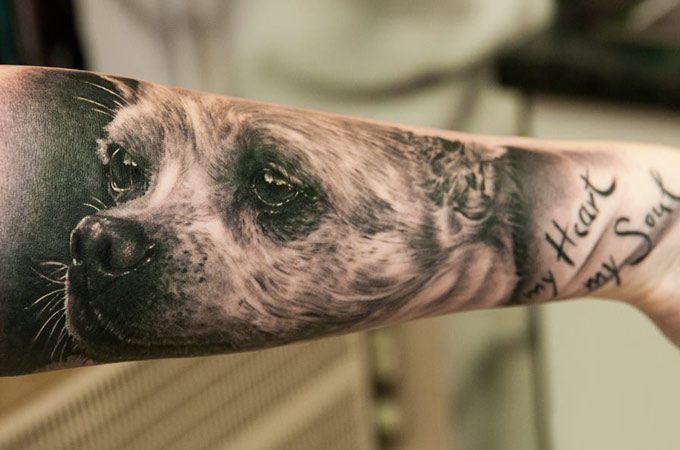 Top 20 Dog Tattoos of All-Time - Tattoos of the Day