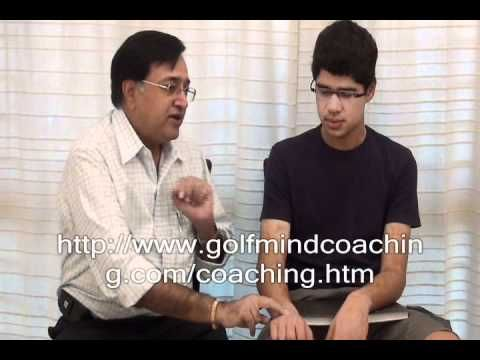 Mr. Pradeep Aggarwal demonstrates you an NLP chaining anchoring technique, how you can let go your negative state of mind after making a bogey instantly automatically and unconsciously get into a positive state of mind so that you go for birdies and good shots.  The technique helps you to come out of slum and get back into your zone automatically ..........